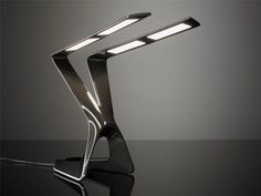 Liternity Victory Carbon Fiber OLED Table Lamp - Office - Home & Office | Carbon Fiber Gear