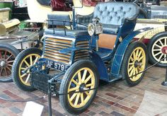 The first Fiat, Fiat 4 HP, was created in 1899 in Italy.