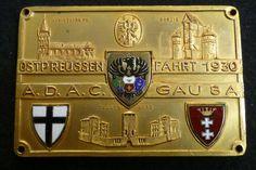 Plakette Ostpreussenfahrt 1930