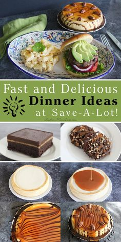 Fast and Delicious Dinner Ideas + Win $50 in Save-A-Lot Grocery Gift Cards! (US) Ends 11/5  Let's face it, this time of year is crazy! With the kids going back to school and the holidays fast approaching, this is the busiest time of year for families. We all like to serve those Pinterest-pretty meals but don't always have the time...or do we? I tried out some of Save-A-Lot's new America's Choice® Creations products, fancied them up for my family, and everything was ready in 15 minutes. 15…