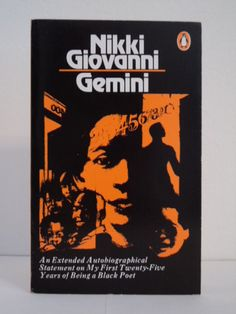 I have always loved Nikki Giovanni's voice. She is an amazing poet. Loved getting to know more about her in this book.