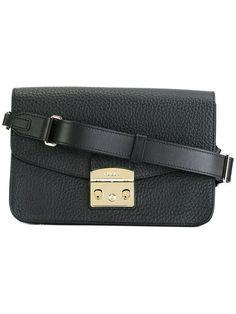 FURLA Metropolis Shoulder Bag. #furla #bags #shoulder bags #leather #nylon #