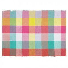 The Picnic Check Table Linens offers a great collection of placemats, napkin sets and runners to brighten-up your table. Its bright, bold colors makes this collection perfect for summer. Linen Placemats, Zara Home Collection, Napkins Set, Table Linens, Bold Colors, Home Accessories, Duvet Covers, Picnic, Design Inspiration