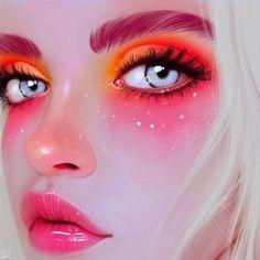 Portrait , Julia Razumova on ArtStation at https://www.artstation.com/artwork/nVJer