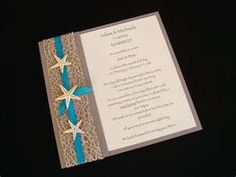 New and used Urban Starfish Teal Beach Wedding Invitation Sample up for sale. Buy and sell Urban Starfish Teal Beach Wedding Invitation Sample on FindTarget Auctions online auction site. Beach Theme Wedding Invitations, Wedding Invitation Samples, Beach Wedding Decorations, Beach Wedding Favors, Craft Wedding, Card Box Wedding, Diy Invitations, Wedding Stationery, Diy Wedding