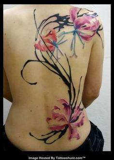 flower tattoo shoulder - Google-søk