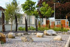 Celtic Stone Carving and Bog Oak. Garden Design, by Tom Leavy_ Leavy Landscape Design, Garden Design, Ireland Landscape, Stone Carving, Garden Landscaping, Celtic, Past, Construction, Inspired