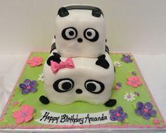 panda birthday cake Panda Birthday Cake, Ninja Party, Sweet Cakes, Amazing Cakes, Birthday Ideas, Desserts, Food, Candy Cakes, Meal