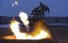 """Paul Ryan just made the case for why lifting the oil ban is bad. It """"is like having 100 Keystone pipelines."""" By exposing producers to the global economy, lifting the oil export ban is expected to drive investment in domestic oil extraction, particularly in the Bakken oil fields of North Dakota. That, in turn, will increase carbon emissions. It will also continue the devastation some in North Dakota are seeing from widespread flaring, increased truck traffic, and water overuse and pollution."""