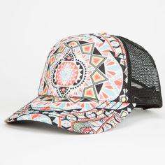 BILLABONG Tiles N Tides Womens Trucker Hat 251290957 | Hats