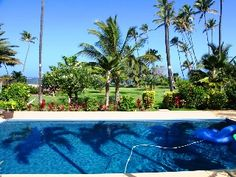 Tropical Family Beach Estate Pool, WiFi, Perfect Launch for Windsurfers & Kiters Vacation Rental in Spreckelsville from Beach Villa, Home And Away, Ideal Home, Swimming Pools, Condo, Explore, Vacation, Outdoor Decor, Travel