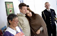 """""""""""Crown Prince Frederick and Crown Princess Mary during a dinner hosted by the Greenlandic self-government in Greenland on August 7, 2014. """" """""""