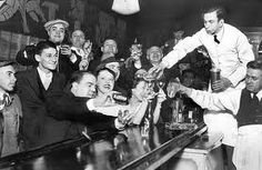 Here's a speakeasy like the ones Jessie and David visited that night in Portland--Markie's and Trudell's--when Jessie was searching for people who knew Henry and his bootlegging friends.