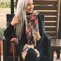 Tanner is slaying our plaid scarf in holiday colors! @tannermmann #adorepm #shopprettymissy #fallfashion #fallstyle #ootd #photooftheday #lookoftheday #lookbook #whattowear #whowhatwear #whatiwear #whatilike #fashiongram #stylegram #instastyle #instafashion #fashionstyle  #styleinspiration #fashiongoals #stylegoals #chic #styleblog #fashionblogger #styleblogger #fashionblog #fashionista  #urbanstyle #urbanfashion #casualchic