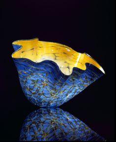 "Dandelion Macchia with Deep Green Lip Wrap, 2002, 18 x 24 x 19"""