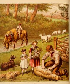 Uncle's Farm Yard - Aunt Louisa's Nursery Favourite, 1870