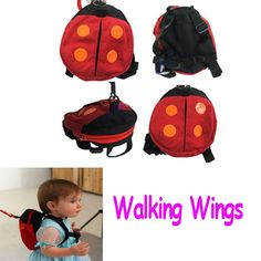 Safety Baby Kid Harness Strap Bat Bag Anti lost Walking Wings ,Freeshipping Dropshipping Wholesale-in Harnesses  Leashes from Baby Products on Aliexpress.com $4.20