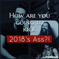 HOW ARE YOU GIONG TO KICK 2018s ASS??!! I dont really do New Years resolutions; but its always a good junction at which to reflect.  Im really proud of what Ive achieved with my playing and composition this year but I feel like Im only just begging.  That could be demotivating but Im looking at how some of the greatest players on the planet have also struggled in so energised and excited by the challenges.  What are you guys going to be working on this year?  I want to: - Get my picking up…