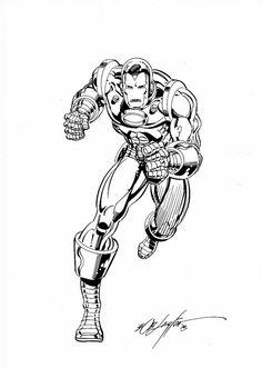 Iron Man - Bob Layton Comic Art