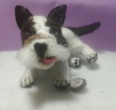 little cookie thief needle felted by annakreativ50