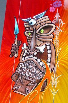 Pinstripe Legends  (Tiki)