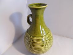 Große Vase Henkelvase Jasba Keramik alt gemarkt 50er Jahre Höhe 23,5cm! Sammler  | eBay