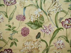 botanical textile prints