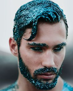Glitter beard done right #GlitterBeard