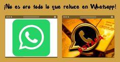 No es oro todo lo que reluce en Whatsapp ¡Otra estafa!
