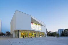Biblioteca Multimedia Chelles / Atelier Novembre Architecture