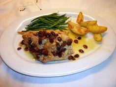 Wat ik gegeten heb: Heel lekkere kip met knoflook en rozijnen