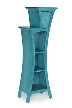 "Cabinet No. 4 from Dust Furniture; 61""h x 23""w x 16""d"