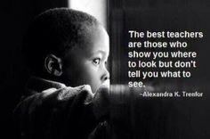 Laat de kinderen ontdekkend leren.
