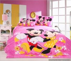 Minnie Mouse Bedding Collection | Minnie Mouse for Amelia ...