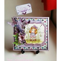 Card Tilda Magnolia  http://scundy.blogspot.it