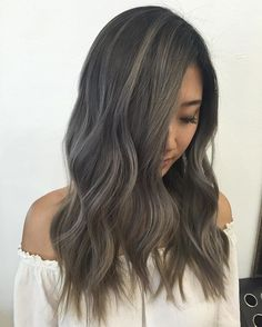 Front view of this ash grey transformationToned with @fanola_usa and used…