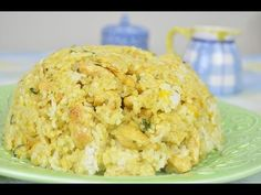 [ ASIAN & HEALTHY FOOD RECIPES ] Coconut Mango Rice with Curry Chicken #recipe #AsianFood #video #videorecipe #videorecipes