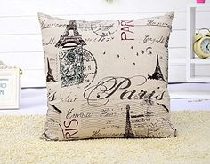 East Melody® Cotton Fine Linen Square Home Decorative Throw Pillow Cover Cushion Case Pillow Case 18 X 18 Inches / 45 X 45 cm (Pairs Tower) East Melody http://www.amazon.com/dp/B00CPW23II/ref=cm_sw_r_pi_dp_AB-bvb0MWMEFJ