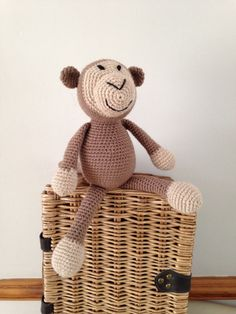 Handmade Cheeky Chimp (15.00 GBP) by Bitzas