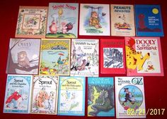 15 Weekly Reader Hardcover Vintage Children's Books Matte Cover Sprout Owly Oz