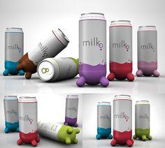 Creative Moolicious Milk Packaging by Alfonso Sotelo Nava