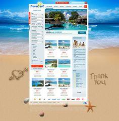 Travelnet on Behance