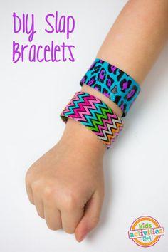 DIY Slap Bracelets | Kids Activities Blog | Bloglovin'