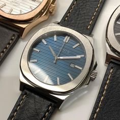 "PARNIS WATCH CO. ® on Instagram: ""The Patek Philippe Nautilus homage is finally here. Don't miss out on this Limited Edition of our most requested model of 2018. Link in the…"" Men's Watches, Watches For Men, Best Looking Watches, Tic Tac, Patek Philippe, Nautilus, Seiko, Omega Watch, Link"