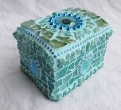 Image result for mosaic jewellery box for a little girl