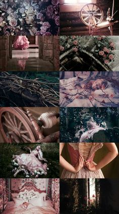 Sleeping Beauty Disney Aesthetics (incomplete) Aladdin/Beauty and the Beast/Cind.,Sleeping Beauty Disney Aesthetics (incomplete) Aladdin/Beauty and the Beast/Cinderella/The Little Mermaid/Mulan/Snow White/Tangled. Princess Aesthetic, Disney Aesthetic, Witch Aesthetic, Aesthetic Collage, Aesthetic Pastel Wallpaper, Aesthetic Wallpapers, Backgrounds Wallpapers, Disney Sleeping Beauty, Briar Rose