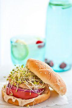 Turkey Burger - IndianSimmer