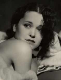Maureen O'Sullivan, 1931,photo by George Hurrell  viasaisonciel