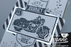 Yvonne is Stampin' & Scrapping: Stampin' Up! One Wild Ride card #stampinup