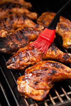 honey barbecued chicken recipe | use real butter